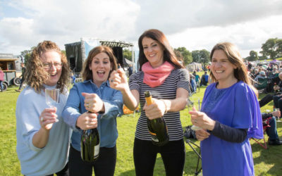 Earlybird Tickets for Proms & Prosecco in the Park and Fireflies Festival at Weston Park Close 30 April